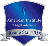 American Institute Of Legal Advocates Rising Star 2018